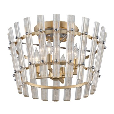 Sauterne 4-Light Semi Flush Mount