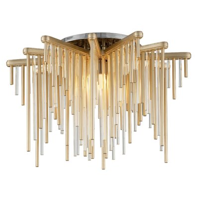 Theory 1-Light LED Semi Flush Mount