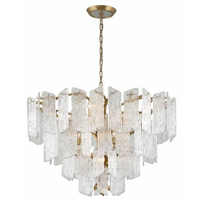 Piemonte 12-Light Crystal Chandelier