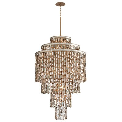 Dolcetti 13-Light Crystal Pendant Size: Large