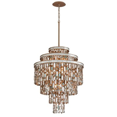 Dolcetti 13-Light Crystal Pendant Size: Medium