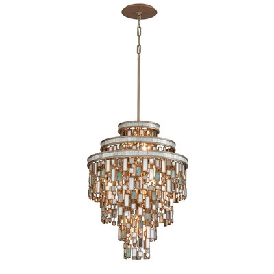 Dolcetti 13-Light Crystal Pendant Size: Small
