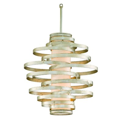 Vertigo 2-Light Pendant Finish: Modern Silver