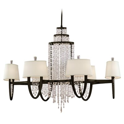 Viceroy Oval 12-Light Crystal Chandelier