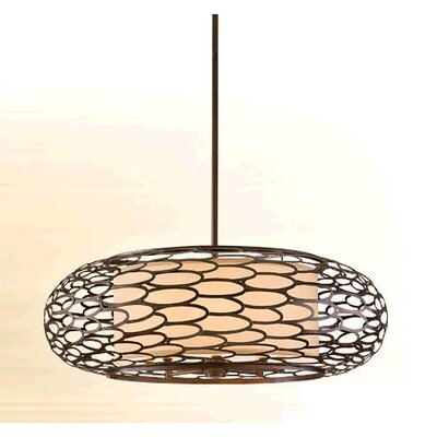 Cesto 8-Light Drum Pendant