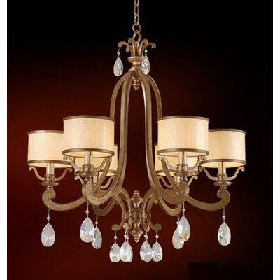 Roma 6-Light Drum Chandelier Finish: Classic Bronze
