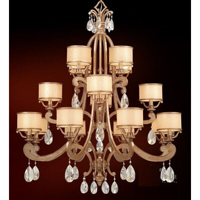 Roma 16-Light Drum Chandelier Finish: Classic Bronze