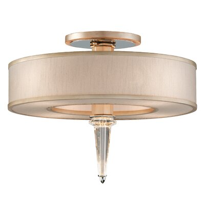 Harlow 8-Light Semi-Flush Mount