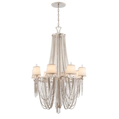 Flirt 8-Light Crystal Chandelier