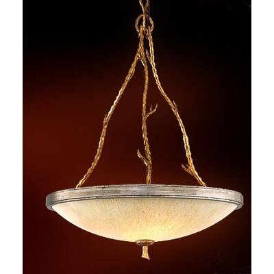 Parc Royale Inverted Pendant Size: 33.5 H x 24.5 W