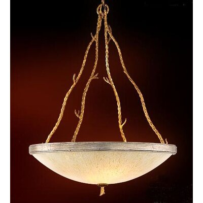 Parc Royale Inverted Pendant Size: 41.5 H x 29.5 W