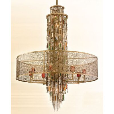 Riviera 15-Light Foyer Pendant Size: Extra Large