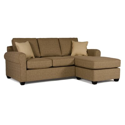 Fiona Sectional Upholstery: Brampton Grape