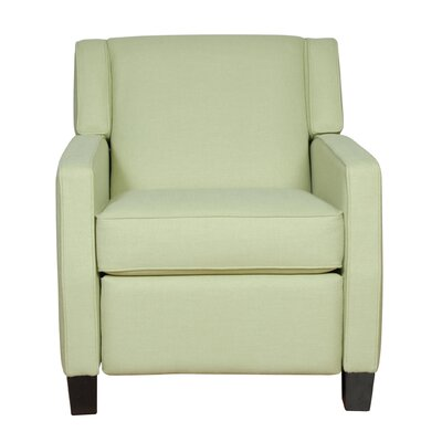 Madison Manual Recliner Upholstery: Campbell Stone