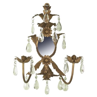 Woodland Imports Wall Sconce Candle Holder | Wayfair