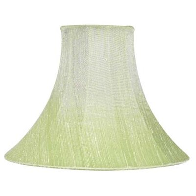 10.25 Silk Bell Lamp Shade Color: Modern Green