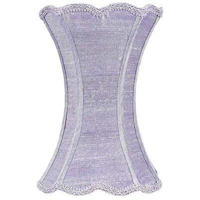 7.25 Silk Novelty Lamp Shade Color: Lavender