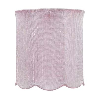 7.25 Drum Lamp Shade Color: Pink