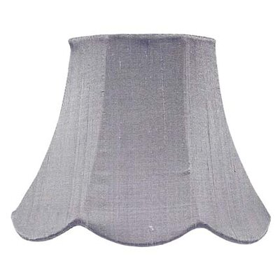 7 Silk Bell Lamp Shade Color: Lavender