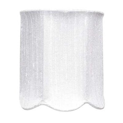 4 Drum Candelabra Shade (Set of 2) Color: White