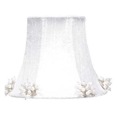 5 Silk Bell Candelabra Shade (Set of 2) Color: White