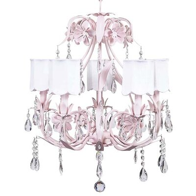 Ballroom Chandelier with Optional Shade