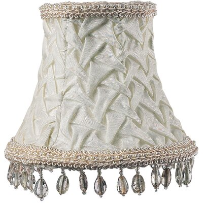 5 Fabric Bell Candelabra Shade (Set of 2)