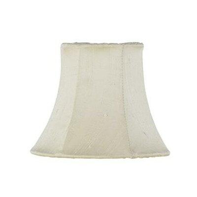 5 Silk Bell Candelabra Shade (Set of 2) Color: Ivory