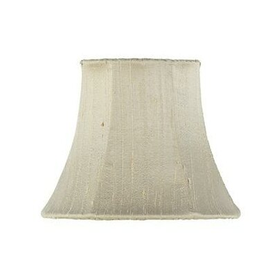 5 Silk Bell Candelabra Shade (Set of 2) Color: Taupe