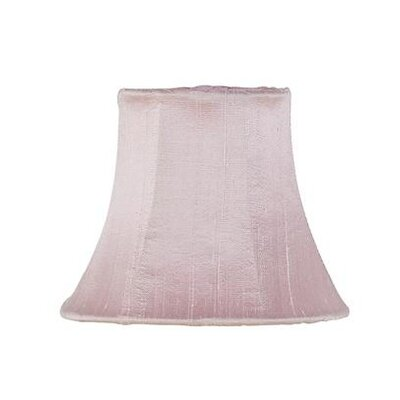 5 Silk Bell Candelabra Shade (Set of 2) Color: Pink