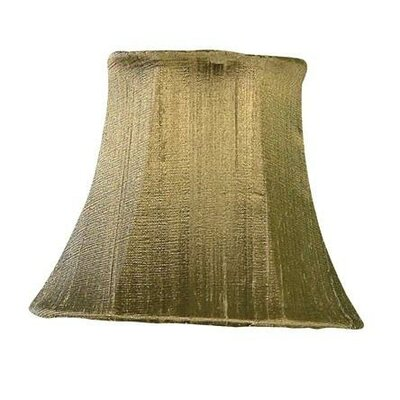 5 Silk Bell Candelabra Shade (Set of 2) Color: Brown