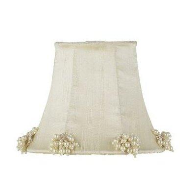 5 Silk Bell Candelabra Shade (Set of 2) Color: Ivory