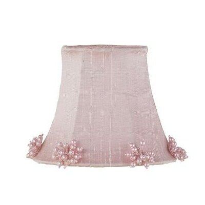5 Silk Bell Candelabra Shade (Set of 2) Color: Pink