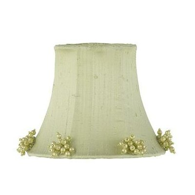 5 Silk Bell Candelabra Shade (Set of 2) Color: Green