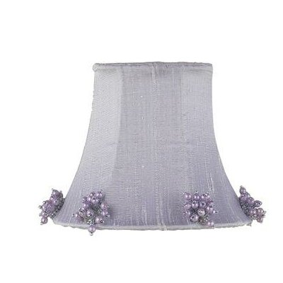 5 Silk Bell Candelabra Shade (Set of 2) Color: Lavender