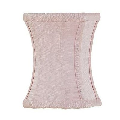 3.75 Silk Novelty Candelabra Shade (Set of 2) Color: Pink