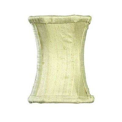 3.75 Silk Novelty Candelabra Shade (Set of 2) Color: Green
