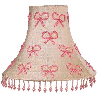 Pearl Bows 16 Silk Bell Lamp Shade