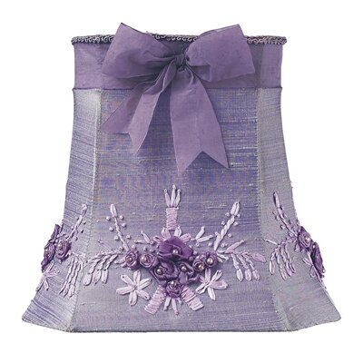 Floral Bouquet 10 Silk Empire Lamp Shade Color: Lavender