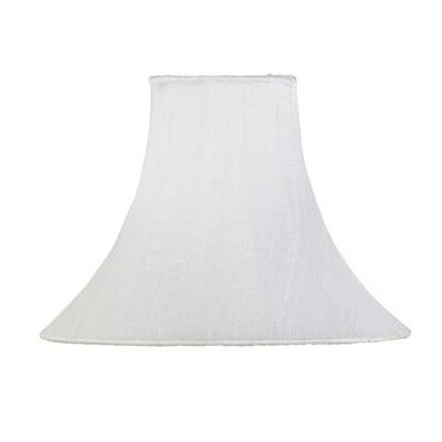 10.25 Silk Bell Lamp Shade Color: White