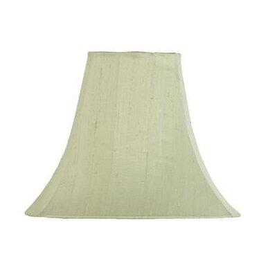 12 Silk Bell Lamp Shade Color: Light Green