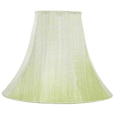 12 Silk Bell Lamp Shade Color: Modern Green