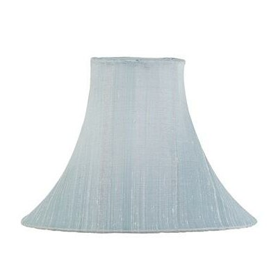 10.25 Silk Bell Lamp Shade Color: Blue