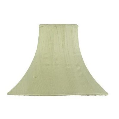 10.25 Silk Bell Lamp Shade Color: Light Green