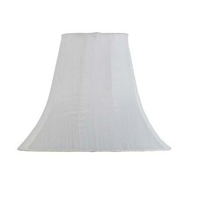 12 Silk Bell Lamp Shade Color: White
