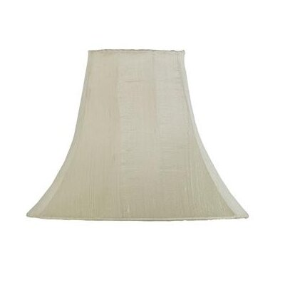 12 Silk Bell Lamp Shade Color: Ivory