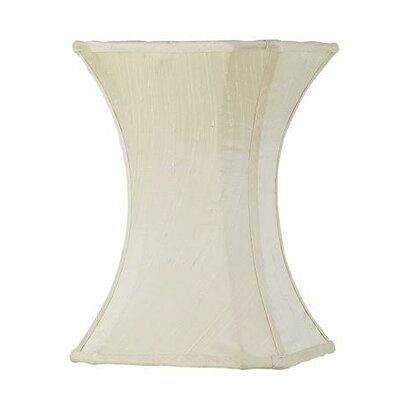 7.25 Silk Novelty Lamp Shade Color: Ivory