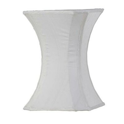 7.25 Silk Novelty Lamp Shade Color: White