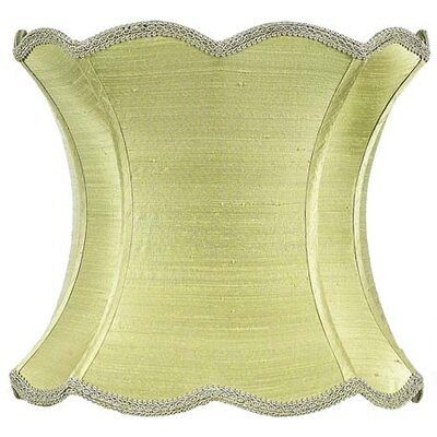 13 Silk Novelty Lamp Shade Color: Green