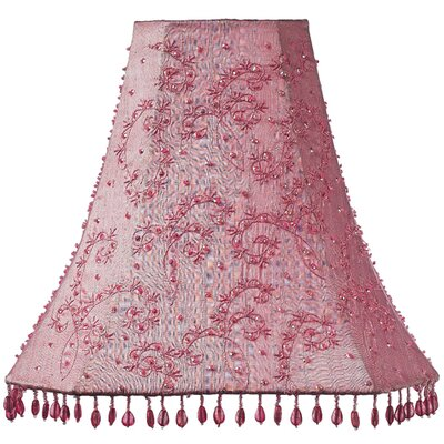 12 Silk Bell Lamp Shade Color: Pink